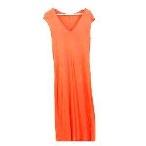 Three Dots Midi T-Shirt Dress | Size M